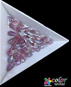 Gota Spike 5.8 MM - Glitter Rosa