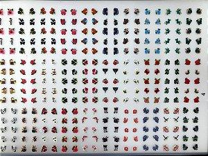 Cartelão com 30 Cartelas- Cód.04 - Semi Acabado