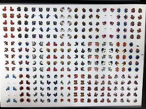 Cartelão com 30 Cartelas- Cód.06 - Semi Acabado