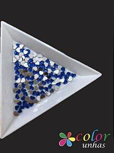 Coração Acrílico 3MM - Azul 60 Unidades