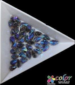 Gota Spike 5,8MM - Glitter Ametista 20 Unidades