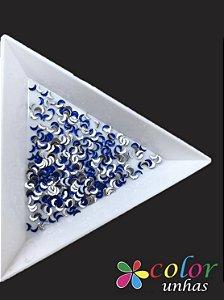 Meia Lua 1,5x3MM - Dark Blue 100 Unidades