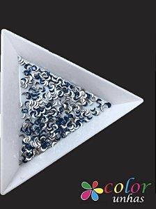 Meia Lua 1,5x3MM - Royal Blue 100 Unidades
