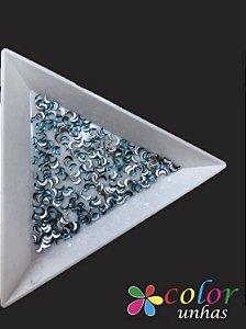 Meia Lua 1,5x3MM - Cornflower Blue 100 Unidades