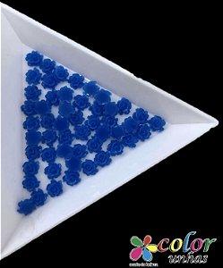Rosa 3D - Azul 30 Unidades