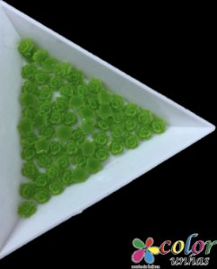 Rosa 3D - Verde 30 Unidades