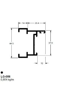 LG-056(32-056) 3,98 KG BARRA 6,00 ML LG