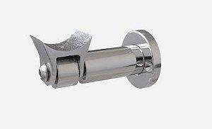 """ALU-041- suporte para corrimão de parede com articulação """"2"""" (50 mm)"""