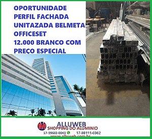 12.000 PERFIL FACHADA UNITIZADA OFFICESET BELMETAL VENDE-SE PREÇO ABAIXO MERCADO ESQUADRIAS DE ALUMINIO