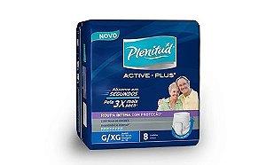 Fralda Geriátrica Plenitude Active-Plus e Active