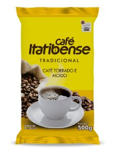 Café Itatibense Tradicional em pó - 500g (Almofada)