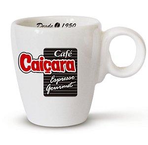 Xícara e Pires de Café 70 ML - Café Caiçara