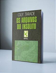 OS ARQUIVOS DO INSÓLITO (produto usado)
