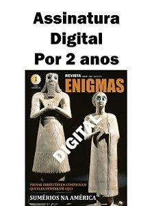 ASSINATURA DIGITAL DA REVISTA ENIGMAS POR 2 ANOS