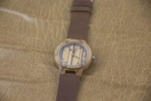Wooden Watch Brown