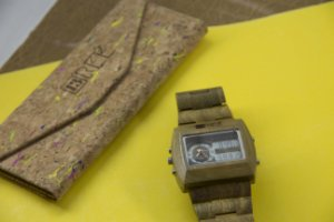 Wooden Watch Digital Light Green