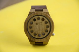 Wooden Watch Phases Brown