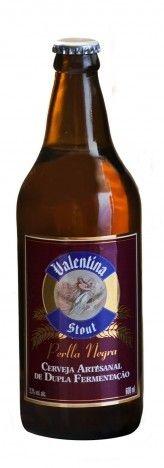 Cerveja Valentina Stout Perlla Negra 660ml