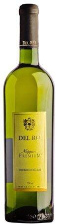 Vinho de Mesa - Del Rei Branco Suave Premium 750ml