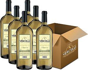 Vinho de Mesa - Vercelli Branco Seco Niágara 6x1L