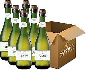 Vinho de Mesa - Vercelli Branco Suave Frisante 6x660ml