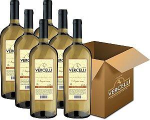 Vinho de Mesa - Vercelli Branco Suave Niágara 6x1L