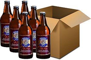 Cerveja Valentina Stout Perlla Negra 6x660ml