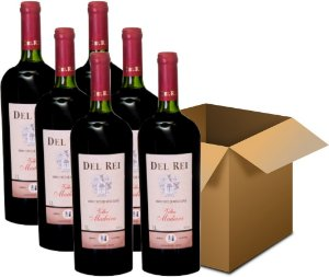 Vinho de Mesa - Del Rei Tinto Suave Velha Madeira  6x1L