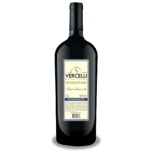 Vinho de Mesa - Vercelli Tinto Demi-Sec Bordô 1L