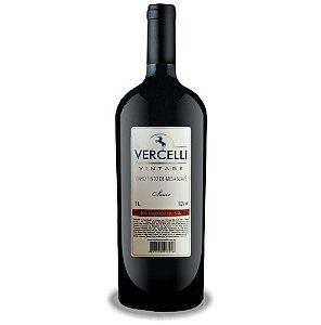Vinho de Mesa Envelhecido - Vercelli Tinto Suave Vintage 1L