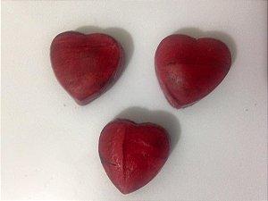 Bala de coco de coração para noivado, chá de panela ou casamento