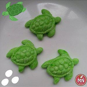 Bala de coco de tartaruga marinha