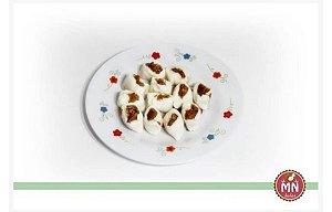 1/2 kg Bala de Coco Tradicional com recheio de Kit Kat chocolate ao leite