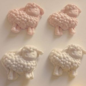 Bala de coco de ovelha