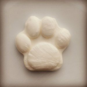Bala de coco patinha de cachorro branca patrulha canina