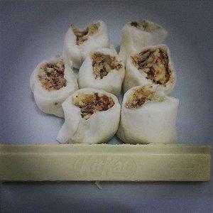 1/2 kg Tradicional com recheio de kit Kat de chocolate branco