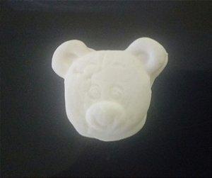 Bala de coco rosto de ursinho