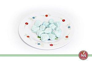 Bala de Coco Tradicional Azul Pastel
