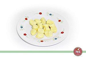 Bala de Coco Tradicional Amarelo Pastel