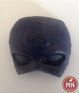 Bala de coco máscara do capitão américa