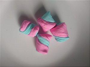 1/2 kg Bala tradicional duas cores azul e rosa bebê chá revelação