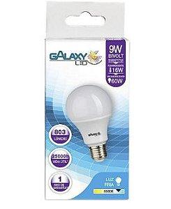LAMPADA A60 LED 09W 6500K BIV E27 1008R GALAXY