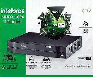 GRAVADOR DIGITAL DVR 04 CANAIS  MHDX 1004 INTELBRAS