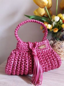 Bolsa Crochê - Coleção Cindy Seda