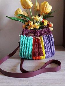 Bolsa Crochê - Coleção TILDA - Varicor