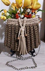 Bolsa Crochê - Coleção TILDA - Fio de Malha