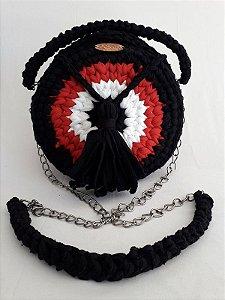 Bolsa Crochê - Coleção Cisne - Fio de Malha