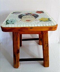 Banquinho Frida - ArtMosaico