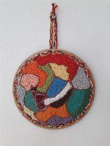 Mandala Energia das Cores - Bordado Criativo
