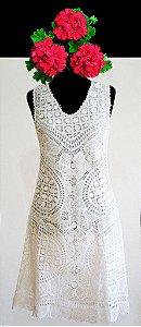 Vestido P (cor branco)